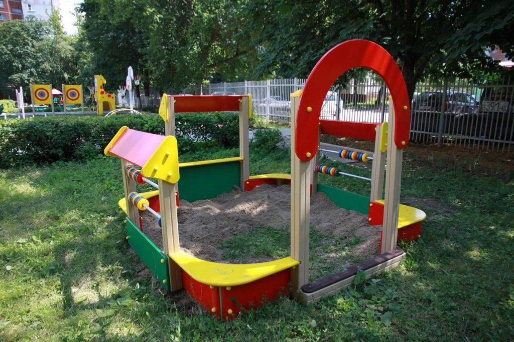 Детские спортивные площадки это